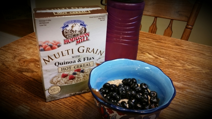 Quinoa & Flax Hot Cereal with Water