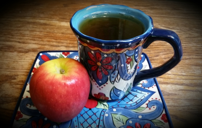 Green Tea and an Apple